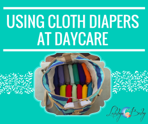 Using Cloth diapers At daycare