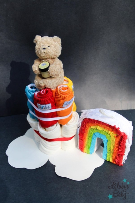 Lalabye Baby Cloth Diaper Cake